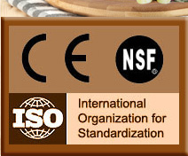 Certification: CE, NSF, ISO