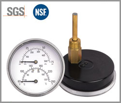 SP-P-2, Pressure gage thermometer