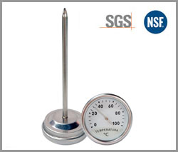 SP-B-7F, hot water heater thermometer