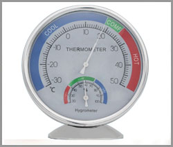 SP-X-56, Room thermometer & Hygrometer