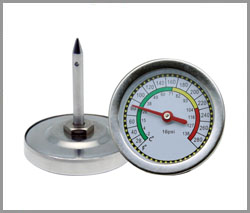 SP-B-25 ODM, Water tank thermometer